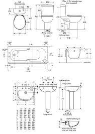 Bathtubs Sizes Standard Bathroom Designs Dimensions Interior Design