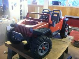 power wheels jeep hurricane modifications the katrina project modifiedpowerwheels com