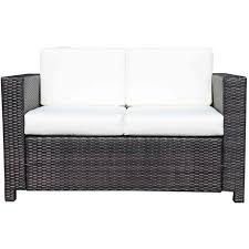fauteuil et canapé fauteuil canapé de jardin 2 places salon de jardin en résine sur