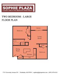 fairbanks alaska apartments sophie plaza maps and floor plans