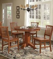 arts and crafts dining room furniture round dining table berkeley