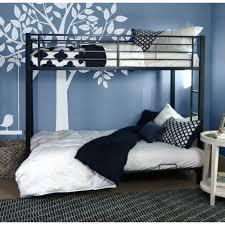 walker edison btofbl sunset twin futon bunk bed black amazon ca