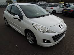 Used Peugeot 207 White For Sale Motors Co Uk