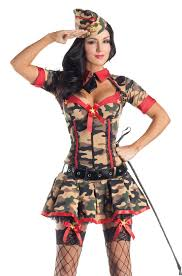 halloween army costumes party king army brat body shaper