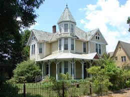 nice simple modular homes victorian style that has wooden fence