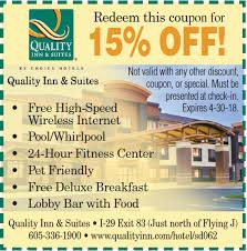 Comfort Suites Coupons Visitor Guide Coupons Visit Sioux Falls