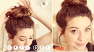 buns hair how to bun zoella