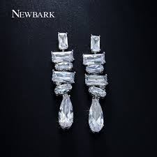 heavy diamond earrings newbark exclusive earrings heavy weight teardrop earring