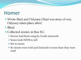 Blind Story English 1 Cp The Odyssey Extended Adventurous Voyage Or Trip