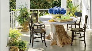 Restaurant Patio Planters by Porch And Patio Design Inspiration Southern Living