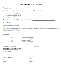 Air Conditioning Invoice Template by Sle Hvac Invoice Template 9 Documents In Pdf Word