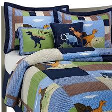 dinosaur quilt set 100 cotton bed bath u0026 beyond