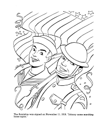 usa printables end of world war 1 coloring sheet american