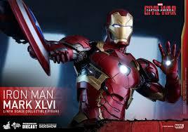 Iron Man 1 6 Toys Mms353 D16 Ca Civil War Iron Man Mark Xlvi