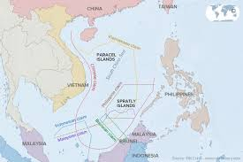 competing claims in the south china sea viewed through