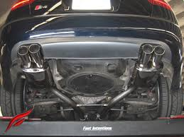 audi s4 exhaust b7 s4 cat back exhaust system fast intentions