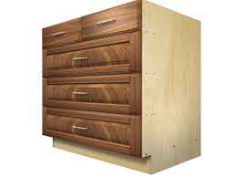 5 drawer base cabinet with split top drawer