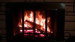 crackling wood burning fireplace hd youtube