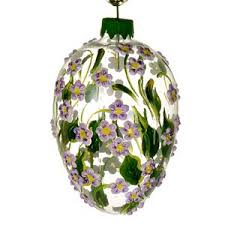 blown egg ornaments christmas ornaments world forget me not blown glass easter