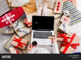 where to buy boxes for presents christmas online shopping top view image photo bigstock