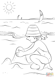 happy summer coloring page free printable coloring pages