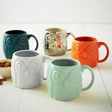 owl mug figurative owl mug west elm