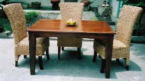 Woven Dining Room Chairs Queen Water Hyacinth Dining Chair Mahogany Table Home Hotel