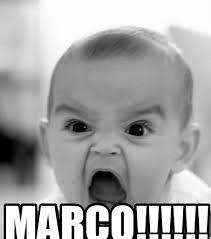Marco Meme - marco angry baby meme on memegen