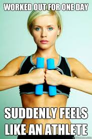Working Out Memes - my first day working out memes quickmeme