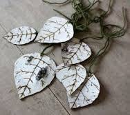 how to make birch bark ornaments the easy way birch bark