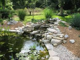 Homemade Backyard Waterfalls by Making Backyard Waterfalls Outdoor Furniture Design And Ideas