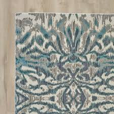 Area Rug Aqua Wrought Studio Sutton Place Aqua Area Rug Reviews Wayfair
