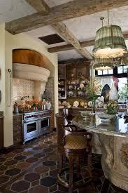 rustic italian kitchens kitchen rustic with kitchen island metal wall