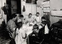 meal time tenement new york city 1910 u2013 the feast in visual