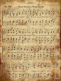 76 best christmas sheet music printable images on pinterest