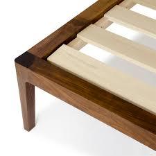 Walnut Bed Frame Solid Walnut Wood Platform Bed No 1