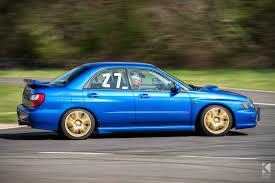 Subaru Impreza Wrx Curborough Sprint Panning Turbo Fast Blue Gold
