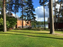 Heritage Lawn And Landscape by Verla Mill Museum Finland Unesco World Heritage Site Picture
