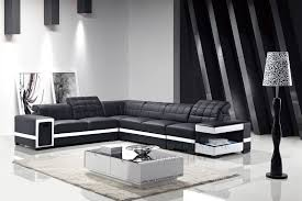 modern black and white leather sectional sofa ideal black and white sofa set learn all about chinese furniture
