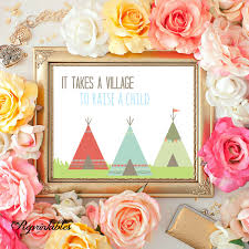 Etsy Vintage Home Decor by Teepee Print Nursery Printable Printable Children U0027s Art