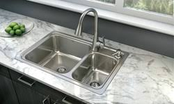 Lowes Kitchen Sinks Available At Lowe S Moen Introduces The Gibson Stainless Steel