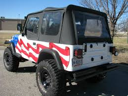Custom Dune Flags 1993 Custom Jeep Wangler Flag Jeep Purple Hart Wounded Warrior