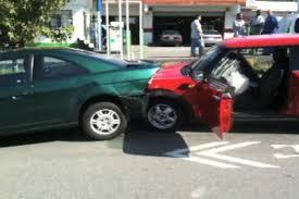 car crash video out vancouver british columbia
