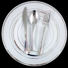silver wedding plates best 25 plastic plates ideas on bridal shower foods