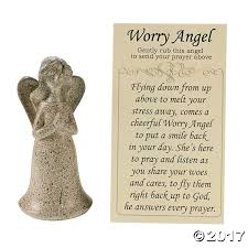 simple thanksgiving prayers worry angels with prayer card