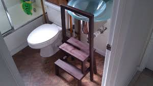 step stool for bathroom sink safe bekvam step stool for ikea hackers