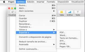 word a pdf imagenes borrosas pages para mac exportar un documento de pages a pdf o a otro