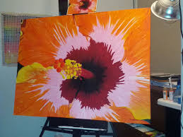 abstract art lessons how to paint acrylic painting techniques
