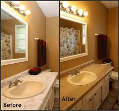 before and after remodeled small bathrooms smart elimination of