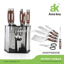 unique handle knife block set classic royal kitchen knife set 8